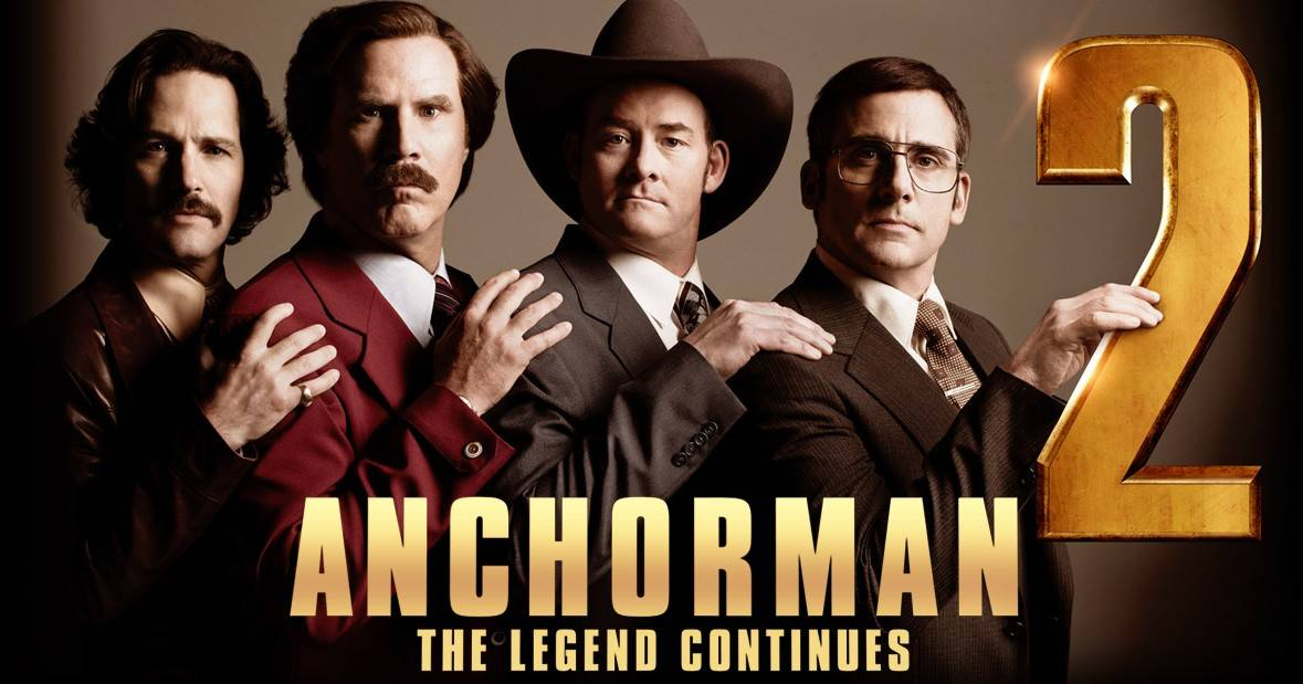 Movie Review: Anchorman 2, The Legend Continues
