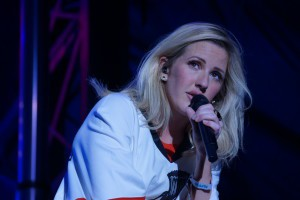 Ellie Goulding performed the festival's final set