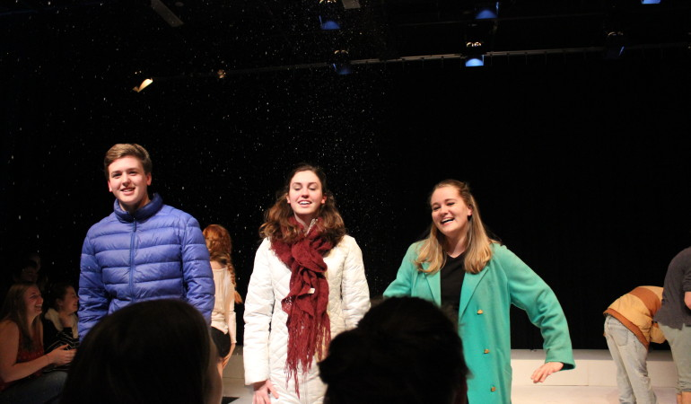 "Seniors Lead Laughs in ""Almost Maine"""
