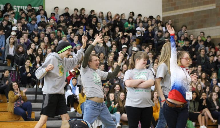 Diversity week closes out with an exciting assembly